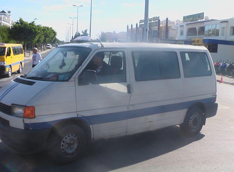 Sammeltaxi Louage Sousse Tunesien