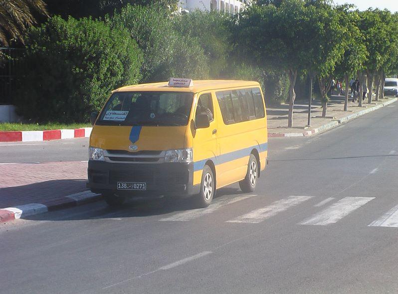 Sammeltaxi Louage Port El Kantaoui Tunesien